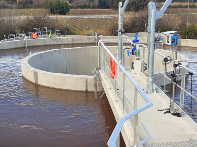 La nouvelle station d'épuration de Châteauneuf de Gadagne est terminée