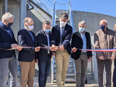 Inauguration de la nouvelle station d'épuration de Châteauneuf-de-Gadagne