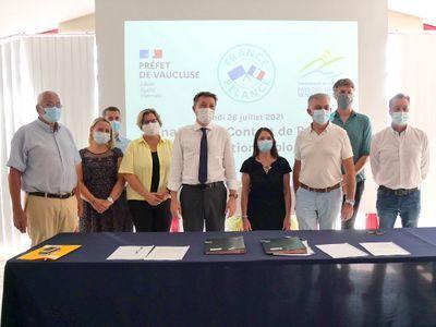 Signature du Contrat Territorial de Relance et de Transition Écologique (CRTE)