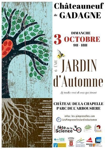 Rendez-vous au 6ème jardin d'automne le dimanche 3 octobre à Châteauneuf-de-Gadagne
