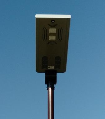 Nouveauté : des lampadaires solaires