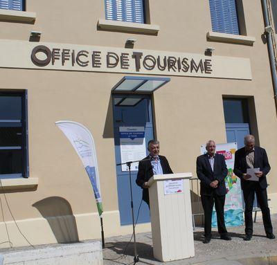Inauguration de l'Office de Tourisme Intercommunal au Thor
