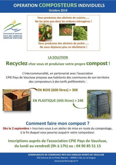 De la formation sur le compostage