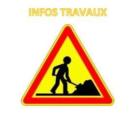 Travaux Rue Denfert Rochereau à L'Isle sur la Sorgue