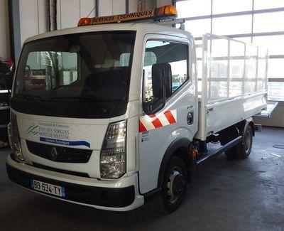 Recyclage d'un véhicule de la CCPSMV