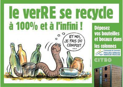 Tri et recyclage du verre