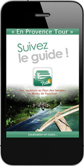 "Application mobile ""En Provence Tour"""